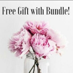 FREE GIFT WITH BUNDLE!!!
